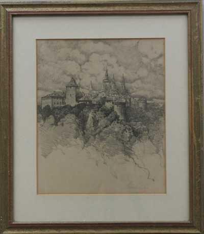Ferdinand Engelmüller - Pražský hrad