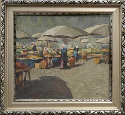 Antonín  Augusta - Na tržišti