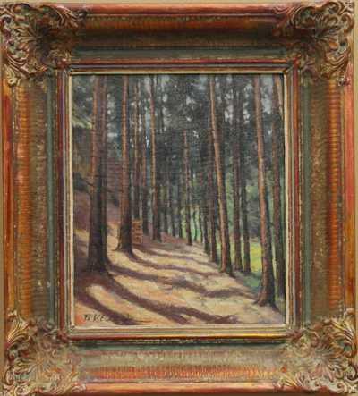 František Vít Blažek - Cesta lesem
