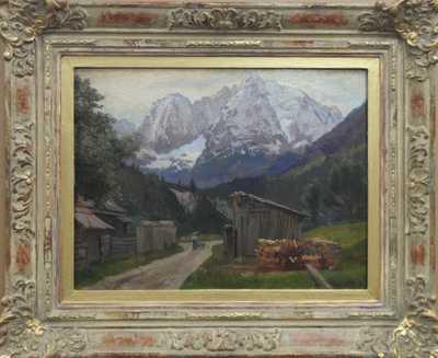 Jiří (Georg) Holub - Pod Alpami