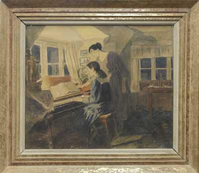 Adolf  Kašpar - Lekce hudby