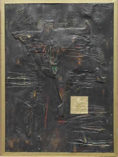 František Pavlů - Abstraktní reliéf