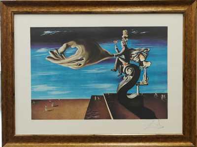 Salvador Dalí - Ruka