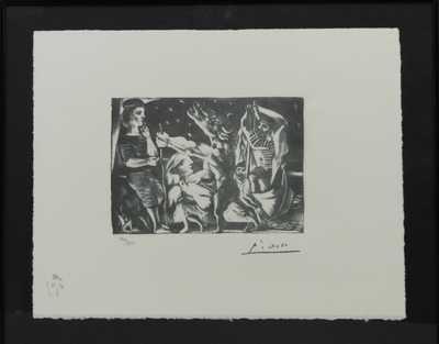 Pablo Picasso - Minotaurus