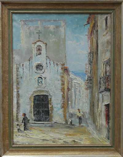 Alois Kohout - Italské městečko