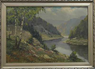 J. Steinský - Řeka