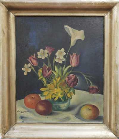 Běla Kašparová – Riegrová - Květinové zátiší