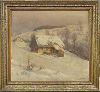 Karel Havlata - Zimní chaloupka