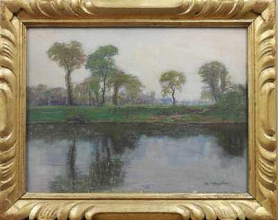 Alois Kalvoda - U rybníka