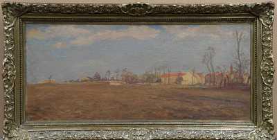 Vlastimil Rada - Pohled na vesničku