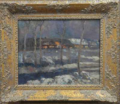 Josef Ullmann - Zimní krajina