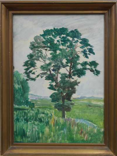 Antonín Hudeček - Osamělý strom