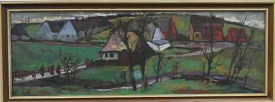 František Emler - Cesta k vesnici