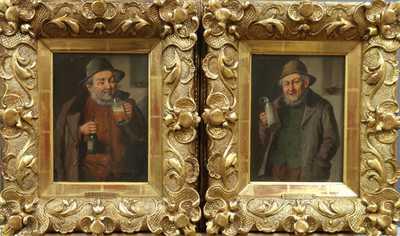 Konstantin Stoitzner - Konvolut dvou  obrazů