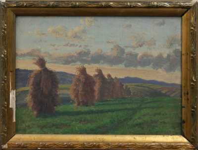 Karel Hofman - Snopy při západu slunce