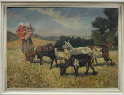 František X. Procházka - Na pastvině