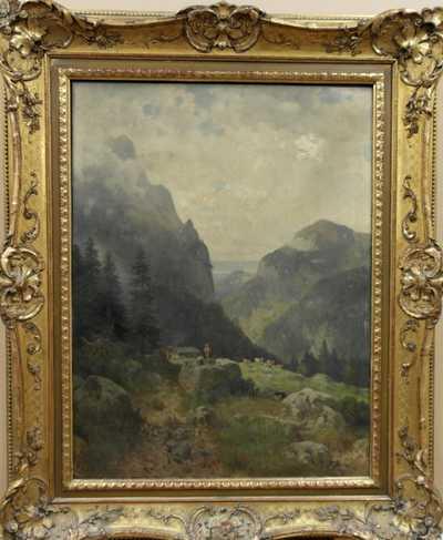 Ludwig Sckell - Romantická krajina