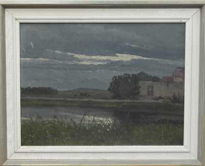 Vojtěch Hynek Popelka - Noční rybník