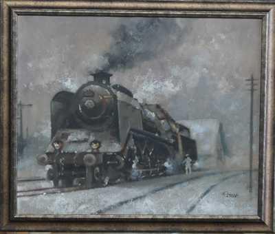 Jaroslav Ronek - Parní lokomotiva