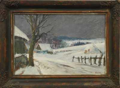 Karel Balíček - Zima v Rybné