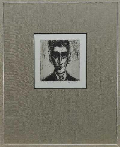 Jan  Bauch - Portrét F. Kafky