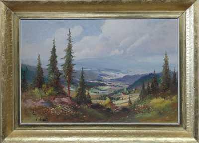 Ludvík Dobeš - Pohled do kraje