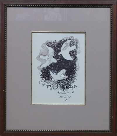 Georges Braque - Tři ptáci