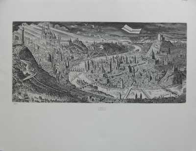 Cyril Bouda - Panorama Prahy