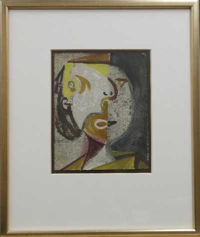 Ota Janeček - Kubistická hlava