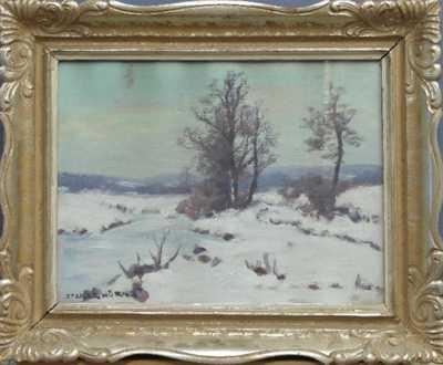 Otakar Hůrka - Zamrzlý potok
