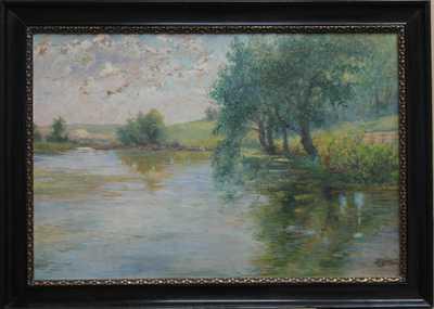 Bohumil Jaroš - Na rybníku