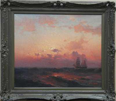 Alexej Vasiljevič Hanzen - Červánky nad mořem