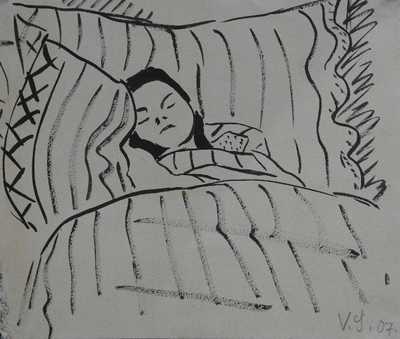 Václav Špála - Při spánku