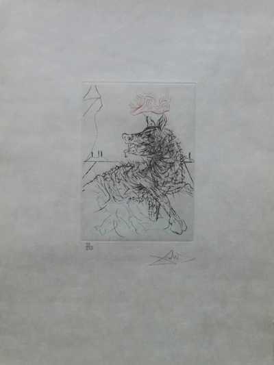 Salvador Dalí - Richard III