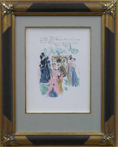 Raoul Dufy - Věnováno Renoirovi