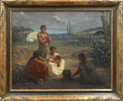 Gustav Sýkora - Indiáni