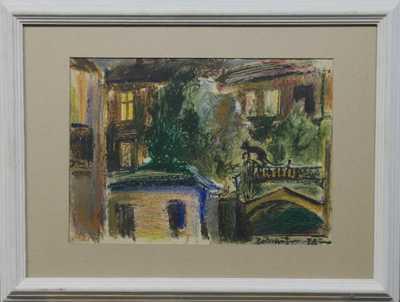 Andrej Bělocvětov - Pohled z pražského bytu matky
