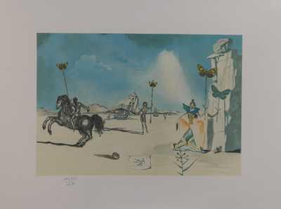 Salvador Dalí - Halucinogenní toreádor