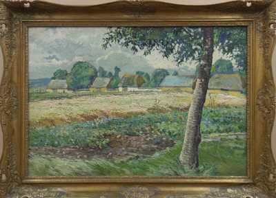 Josef Paterna - Moravská vesnička