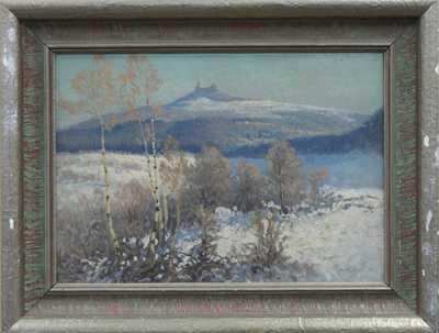 Karel Havlata - Trosky v zimě