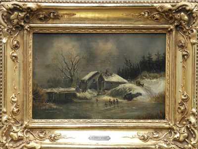 Charlotte Piepenhagen - Na zamrzlé řece