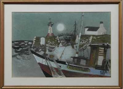 Vilém  Plocek - Rybářský přístav