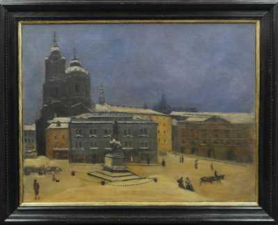 Karel Kostial - Malostranské náměstí