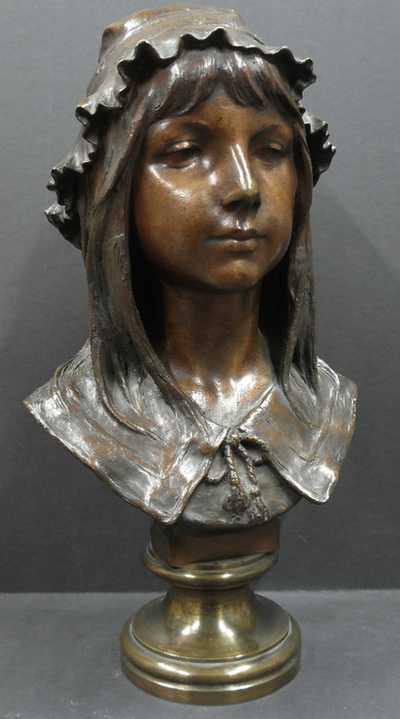 Emile Namur - Hlava dívky