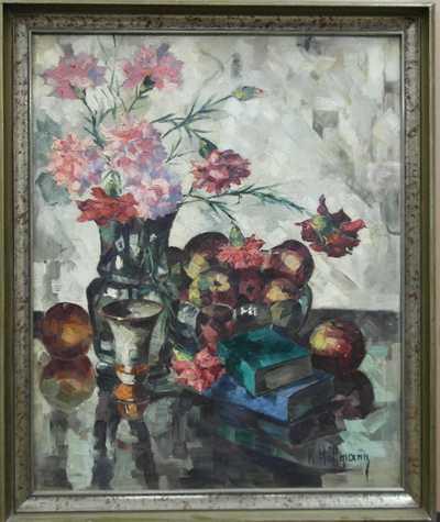 Karel Hoffmann - Květinové zátiší