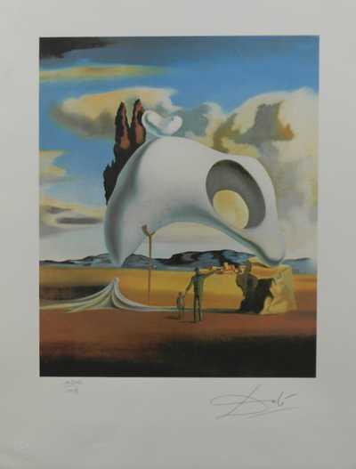 Salvador Dalí - Atavistické pozůstatky deště