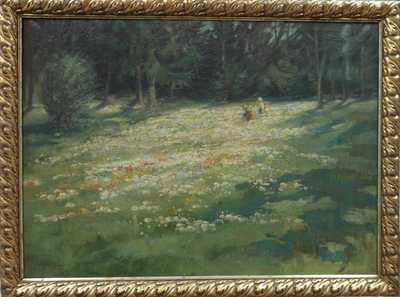 Josef Krejsa - Děti na mýtině