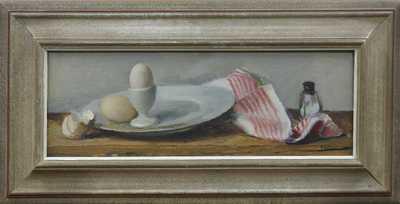 František Zikmund - Zátiší s vajíčkem