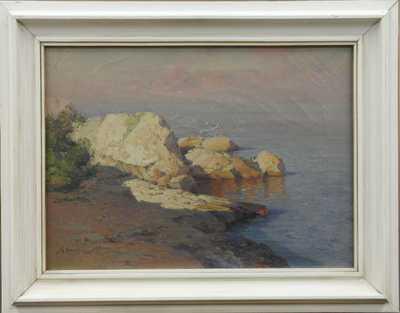 Alexej Vasiljevič Hanzen - Červánky nad útesem