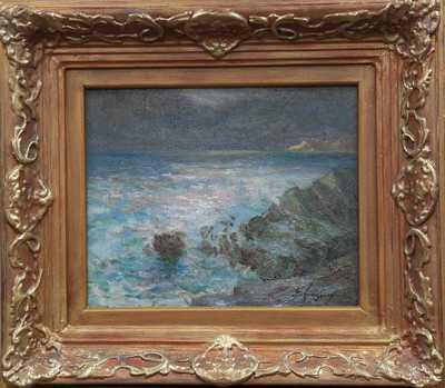 Emanuel Hosperger - Rozbouřené moře